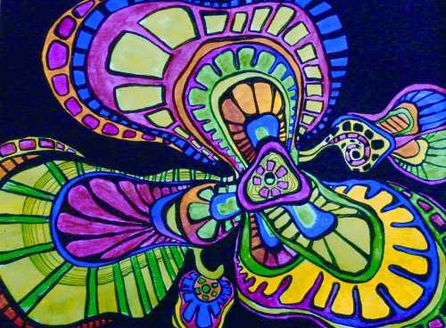 Набор акриловых красок Фэнтези 12 цветов по 20мл