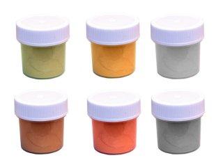 Акриловые краски   Металлэкс    с металлическими оттенками  набор из 6 красок