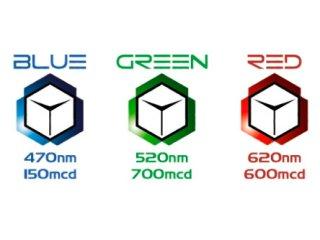 Светодиоды для компьютера на молексе TFC LED Module GREEN 643048 зеленые