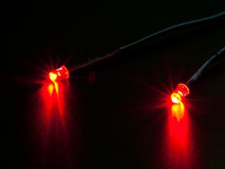 Светодиоды для компьютера на молексе TFC LED Module RED 642041 красные