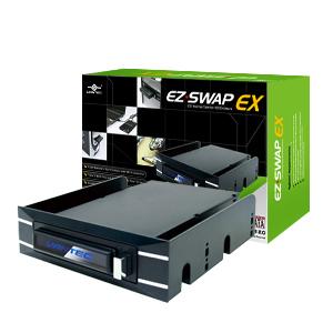 Моддерский Mobile rack Vantec EZ Swap EX MRK 255ST BK для 2 5 HDD SATA  черный