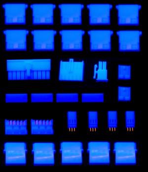 Набор синих молексов c инструментом