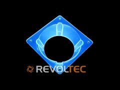 Переходник Revoltec для вентилятора от 60 мм к 80 мм  свет  в УФ