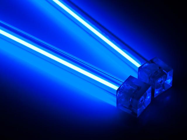 Комплект Revoltec из 2 х синих неоновых ламп 30 см  с инвертором