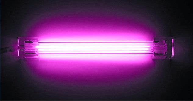 Дополнительная неоновая лампа  фиолетовая  10 см  без инвертора