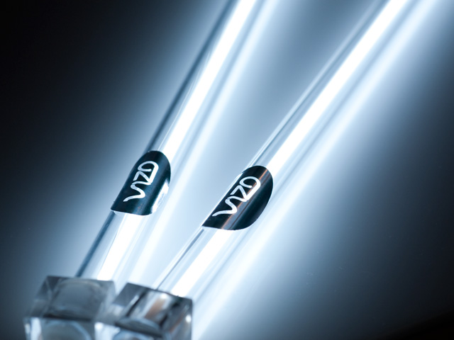 Комплект Vizo из 2 х белых ламп 30 см  с инвертором