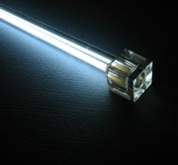 Неоновая лампа Revoltec белая  длина 30 см  с инвертором