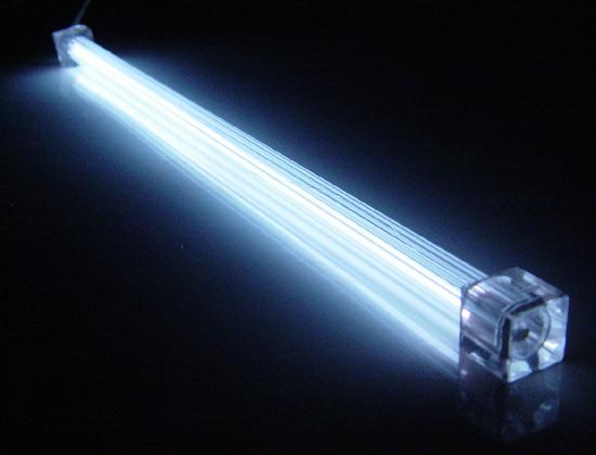 Дополнительная неоновая лампа  белая  20 см  без инвертора