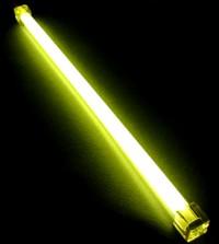 Неоновая лампа Revoltec желтая  длина 30 см  с инвертором
