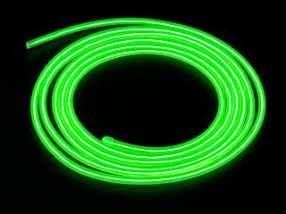 Конструктор Сделай сам толстый неоновый шнур зеленый диам  5 мм длина 2 5м