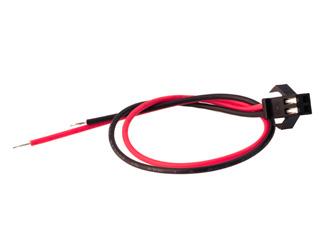 Коннектор штекер мама для неонового шнура длина 20см