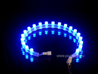 Лампа Night magic  20 ультраярких светодиодов  синяя