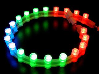 Лампа Night magic  20 ультраярких светодиодов  RGB