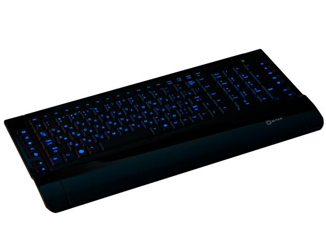 Клавиатура с подсветкой клавиш трехцветной 5bites W9630EL черная USB
