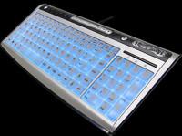Моддерская клавиатура с подсветкой   Revoltec LIGHTBOARD ADVANCED