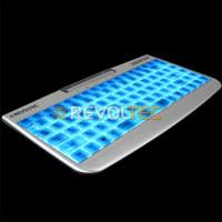 Моддерская клавиатура с подсветкой LightBoard Compact Alu Edition компакт  алюм