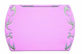 Коврик для мыши с кристаллами розовый NOVA LADY XILION для девушек геймеров