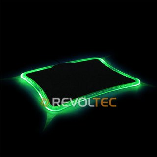 Коврик для мыши LightPad Precision Green  зеленая подсветка