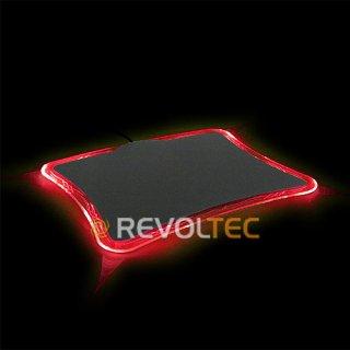 Коврик для мыши LightPad Precision Red  красная подсветка