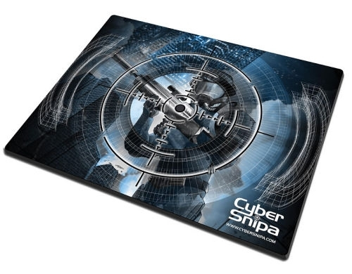 Профессиональный геймерский коврик Cybersnipa Pro Gamer  дизайн  Снайпер