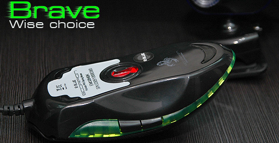 Игровая мышь оптическая E Blue Scorpion EMS084I00 черная