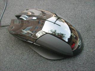 Игровая мышь с подсветкой Enzatec X Luca Teamscorpion XMS001BK черная