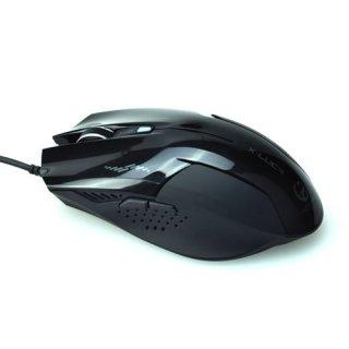 Игровая мышь с подсветкой Enzatec X-Luca Teamscorpion MS001BK черная