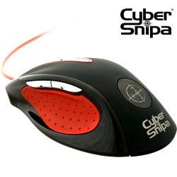 Профессиональная игровая мышь CyberSnipa Stinger  3200 dpi  USB