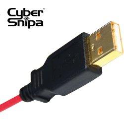Позолоченные USB-контакты
