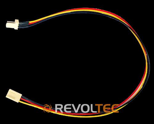Удлинитель Revoltec  для вентилятора  3 Pin  3pin   длина провода 32 см