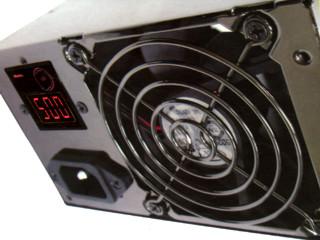 Блок питания Floston 620 ватт  с дисплеем потребляемой мощности PowerWatch