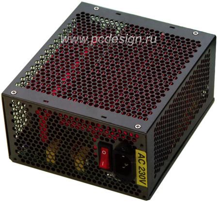 Блок питания Gembird400 ватт  бесшумный  без вентилятора  охлаждается радиатором