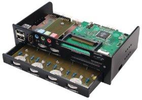 Многофункц  панель Kama Panel 2 черная  SCKMPN 2000 BK