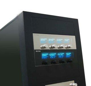 Панель Scythe  Kaze Master 5 25   серебрист   4 канал реобас  t контроль  VFD