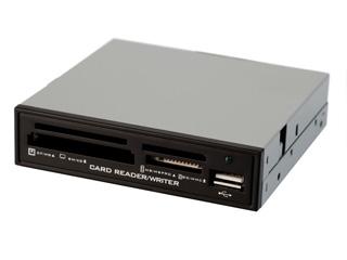 Картридер внутренний 3 5 ORIENT CR 704B черный all in 1 OEM без упаковки