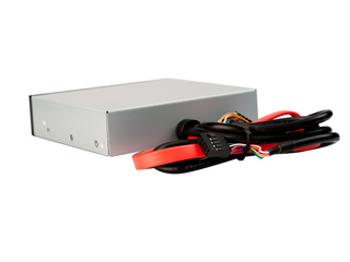 Картридер внутренний черный CK0020C E S в отсек 3 5 с портами
