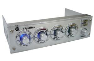 Lightbus   многофункциональная панель для отсека 5    серебристая
