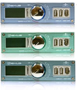 Многофункциональная панель Nexus с LCD дисплеем и сменными панелями
