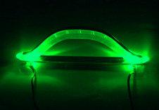 Комплект из двух зеленых светящихся ручек для корпуса