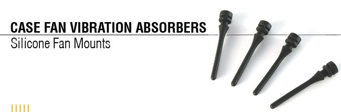 Антивибрационные винты для вентилятора Nexus SFM 1000 4шт  черные