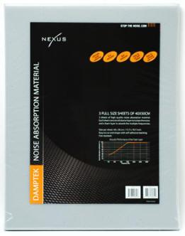 Шумоизоляция компьютера Nexus DampTek Mats из трех пластин для корпуса