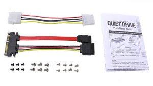 Quiet Drive 3 5     шумоизоляция для 3 5   жесткого диска  уст  в 5 25   отсек
