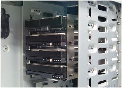 Антивибрационный крепеж Scythe Hard Disk Stabilizer x4  для 4 х жестких дисков