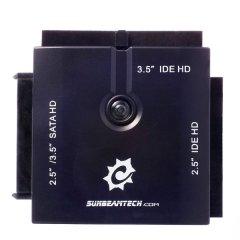 Адаптер Sunbeam SATA IDE к USB  черный  для подключения HDD