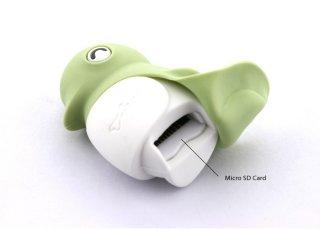 Внешний картридер Bone Penguin Reader розовый пингвин micro SD и M2