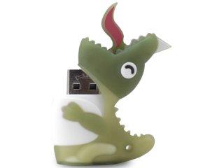 Флешка Динозавр USB Bone Dinosaur Driver светло-зеленый