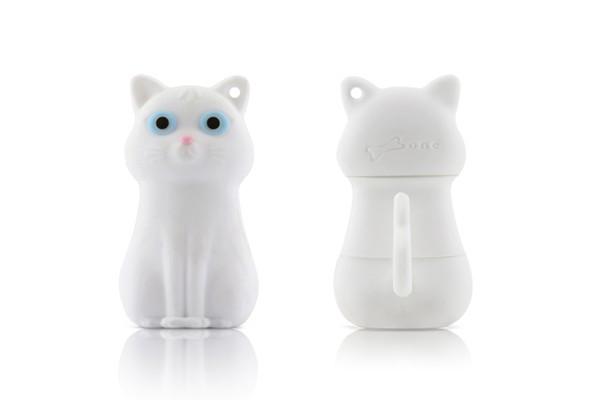 Флешка Кошка белая Bone Cat Driver 4GB DR10091-4W