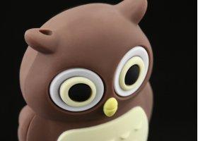 Флешка Сова розовая 8 ГБ Bone Owl Driver