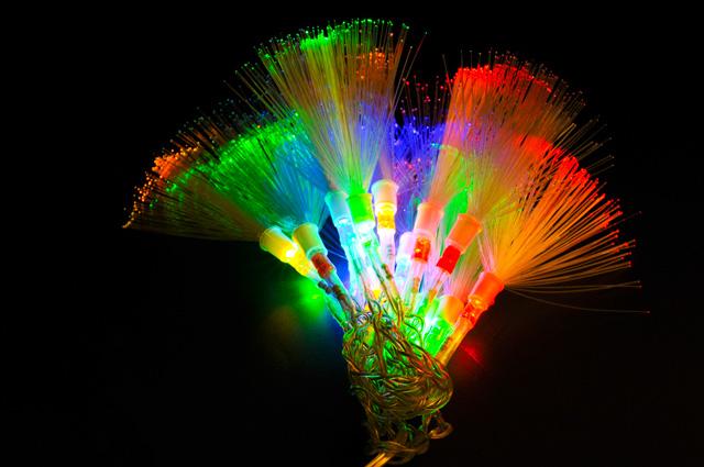 USB Гирлянда Волшебные кисточки с разноцветной подсветкой NY1415