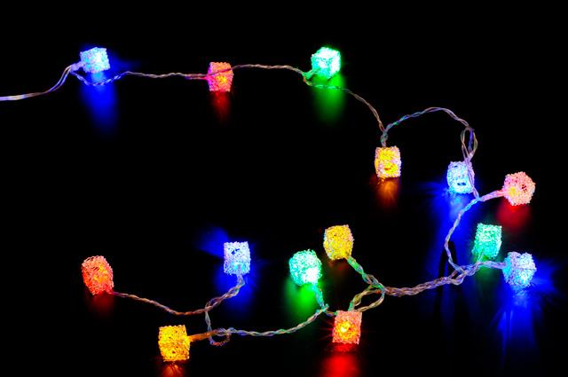 USB Гирлянда Сокровища гномов с разноцветной подсветкой NY1416